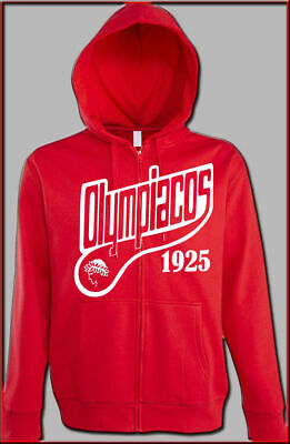 Olympiakos Piräus Olympiacos, Shweat Jacke Sweatshirt Hodded Hellas | eBay
