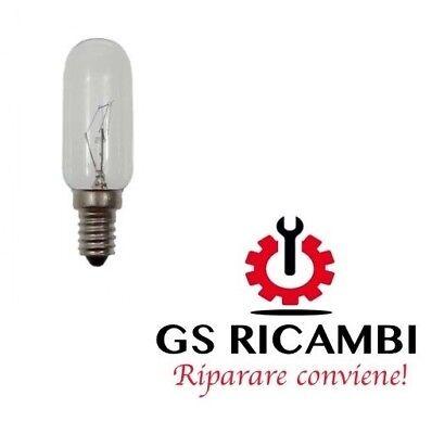 LAMPADA PER CAPPA ATTACCO LAMPADINE E14 TUBOLARE 40W 220 V 2 PEZZI