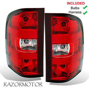 Image Is Loading 2007 2017 Replacement Tail Light Set For Chevy