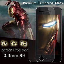 PROTEGGI  DISPLAY PELLICOLA PER IPHONE 5 5C 5S SCHERMO iN VETRO TEMPERATO GLASS