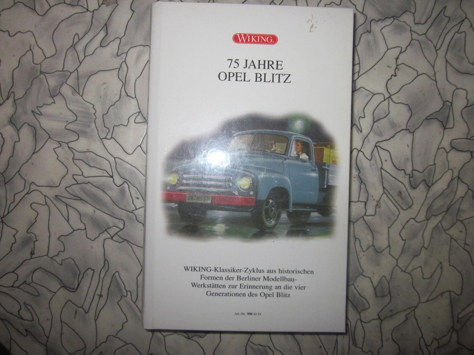 Wiking art.nr 9904455  75 ans Opel Blitz  1 87 NEUF  OVP