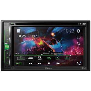 Pioneer-2-DIN-6-2-034-Touchscreen-Car-Stereo-Multimedia-DVD-Receiver-AVH-210EX