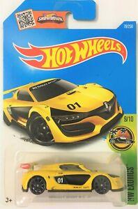 Hot-Wheels-2016-079-250-9-10-HW-Exotics-Renault-Sport-R-S-01-Yellow-MOSC