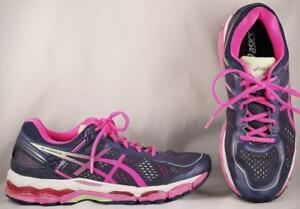 Details about Women's Asics Gel-Kayano 22 Blue/Fuschia Running Shoes US 10  EUR 42