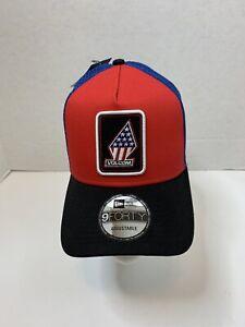 Volcom-USA-Trucker-New-Era-9-Forty-Snapback-Muetze-Sterne-und-Streifen