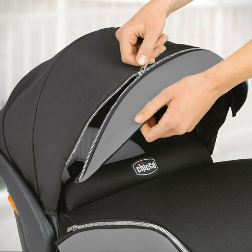 Chicco KeyFit 30 Zip Air Infant Child Safety Car Seat /& Base Surf 4-30 lbs NEW