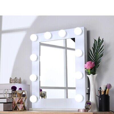 Hollywood Makeup Lighted Vanity Mirror, Vanity Bulb Mirror