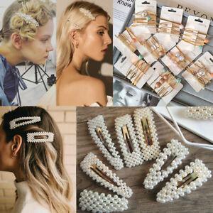 New-Fashion-Pearl-Hair-Clip-Hairband-Comb-Bobby-Pin-Barrette-Hairpin-Headdress