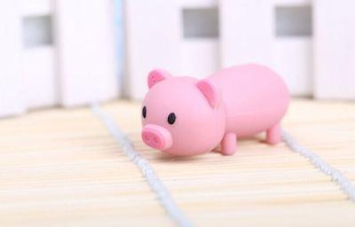 1pc 32GB Pink Pig Standing Animal Keychain USB Flash Thumb Drive USA Shipper
