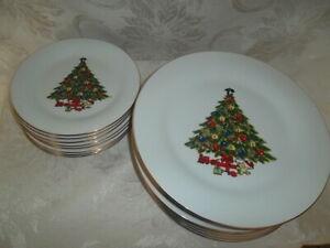 Sea-Gull-fine-china-jian-shiang-christmas-tree-8-7-5-salad-plates-8-10-1-4-din