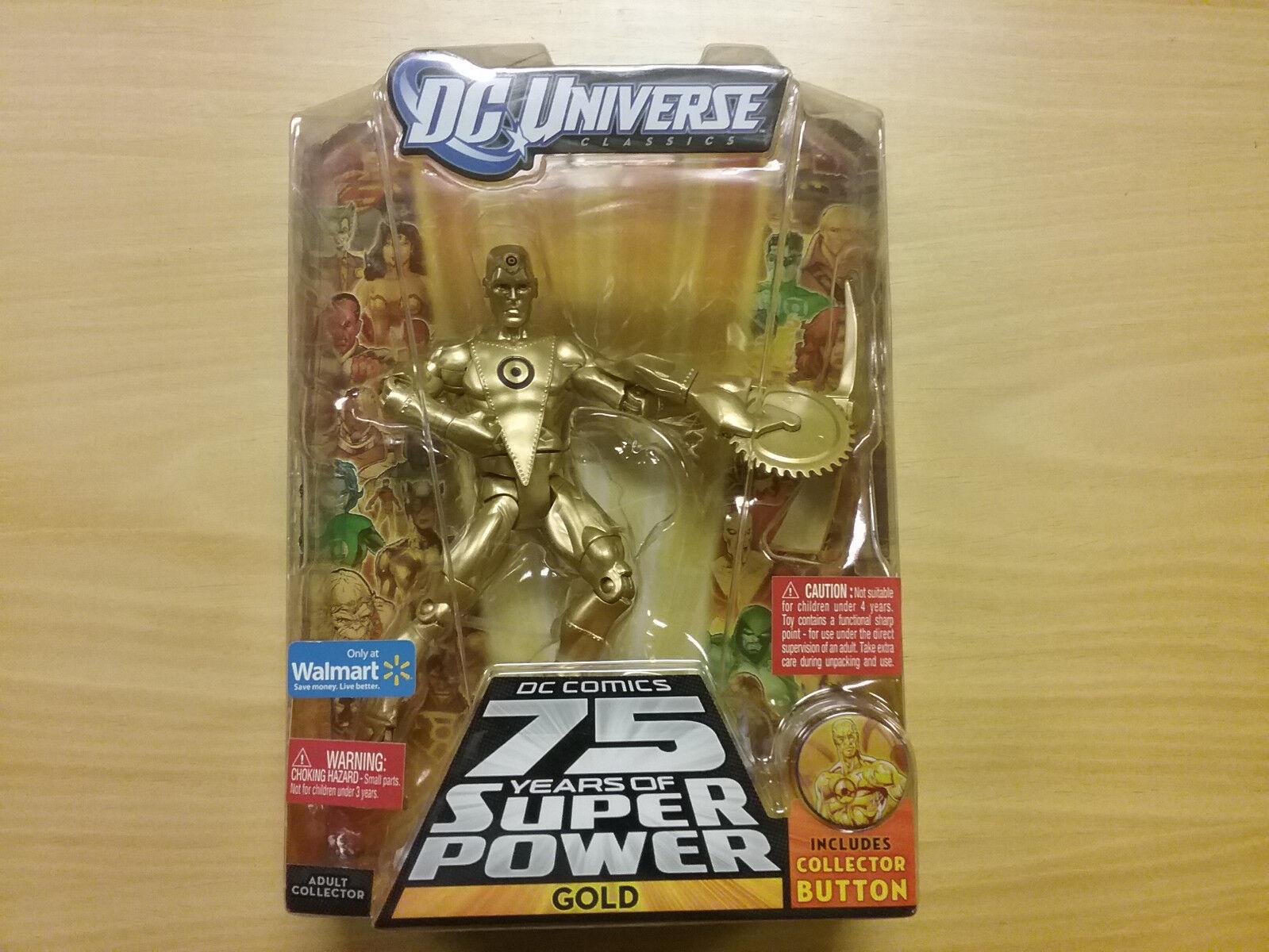 DC Universo oro figura 75 años Walmart Ultra Humanite Nuevo