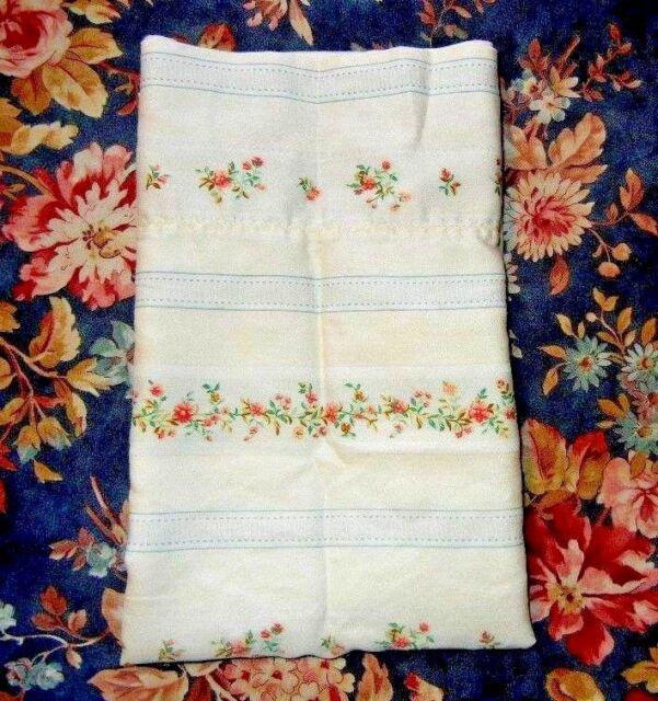 Rare Ralph Lauren Julianne Sussex Garden Floral Stripe Sateen Std Case Aldenwood