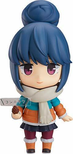 Nendoroid 981-dx Yurucamp Rin Shima Dx Ver. Statuetta  Nuova da Giappone  shopping online di moda