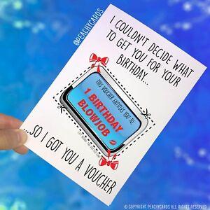 Auguri Di Natale Per Il Marito.Scortese Divertente Biglietto Di Auguri Compleanno Fidanzato Marito