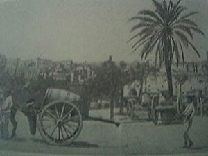 book-picture-1930s-malta-valletta-methods-of-spraying-the-dusty-streets