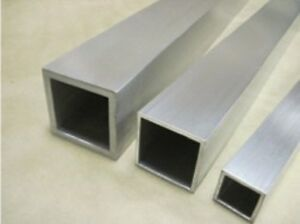 "2/"" x 3/"" x 1//8/"" Aluminum Rectangular Tube 6061  x 48/"""
