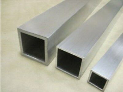 "2/"" x 4/"" x .250/"" x 72/"" ALUMINUM RECTANGLE TUBING"