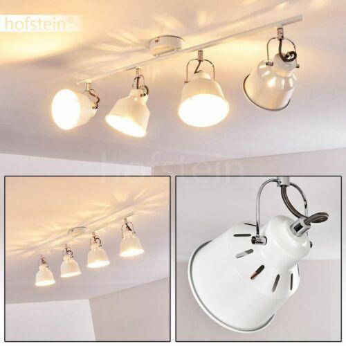 4-flammige Decken Beleuchtung weiß Flur Küchen Strahler Wohn Schlaf Zimmer Lampe