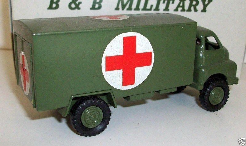 calidad garantizada B&B MILITARY MILITARY MILITARY - 1 60 DINKY SCALE - NO.9 BEDFORD RL AMBULANCE  entrega gratis