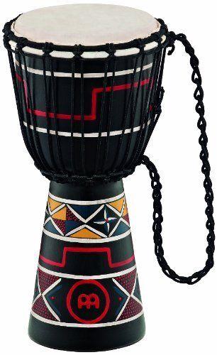 Meinl HDJ2S Headliner Seil gestimmte Djembe Stammes-Serie 20.3cm