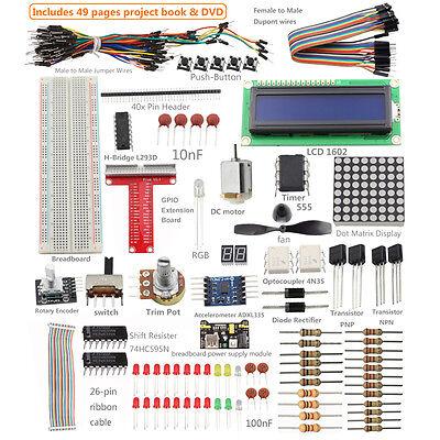 Sunfounder Super Starter Kit for Model B+ &Raspberry Pi 2 with 40-Pin GPIO Board