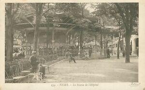Vichy - La Source de l'Hopital postcard (Editions Ideal, no. 179) 1920s
