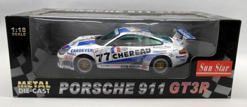 Sun Star 1 18 Scale Diecast - 1312 Porsche 911 GT3R Navision Le Mans 24H  73  | Hat einen langen Ruf