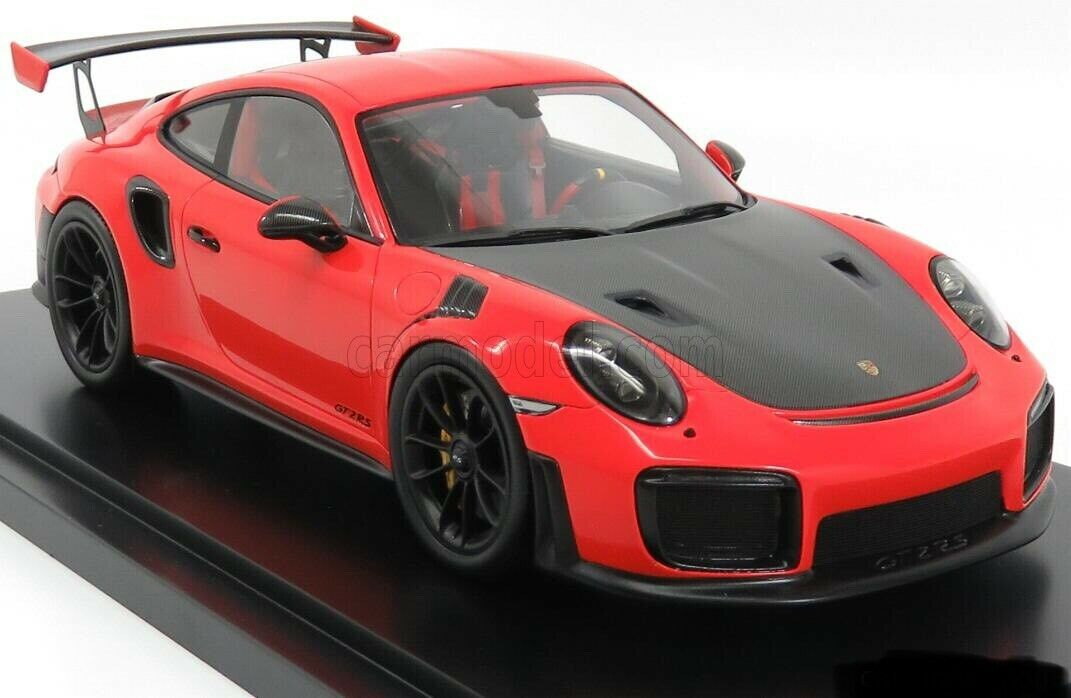 1 18 Spark Porsche 911 991 GT2 RS Lava Orange WAX02100036