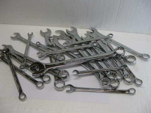 Matco Silver Eagle tools sae and metric WRENCHES SOLD EACH Nice!