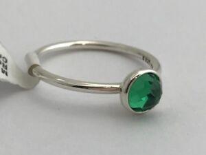 403b26678 Image is loading Authentic-Pandora-May-Droplet-Royal-Green-Crystal-Ring-