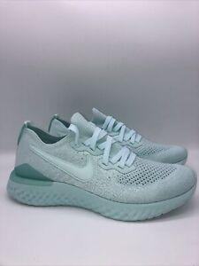 Nike-Womens-Running-Epic-React-Flyknit-2-Size-7-5-Running-Teal-BQ8927-300-New
