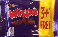 Cadburys Wispa Chocolate Bars - Full Box 44 Bars