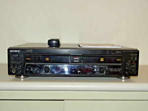 Sony RCD-W100 Audio CD-Recorder / Doppellaufwerk Schwarz, FB&BDA, 2J. Garantie