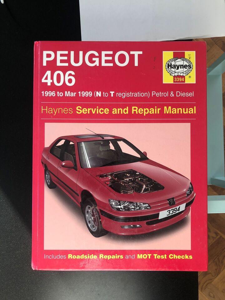Reparationshåndbog, Haynes Peugeot 406