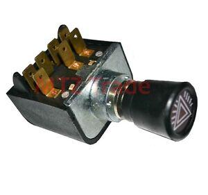 Warnblinkschalter-Traktor-Schlepper-Bagger-Oldtimer-Schalter-Warnblinkanlage