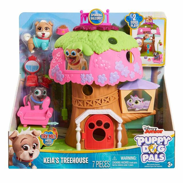 Disney Junior Puppy Dog Pals Doghouse Playset New