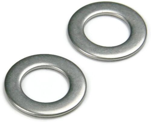 Stainless Steel Flat Washer Series 9C416 Qty 250 1//4 ID x .500 OD x 1//16 THK