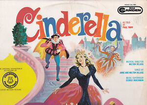 Cinderella 1966 Original Movie Soundtrack Record Lp Ebay