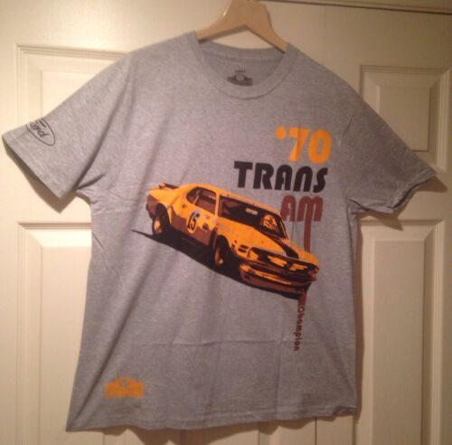 Grey T-Shirt Limited Quantities /& Size/'s BOSS MUSTANG 1970 TRANS AM CHAMPION