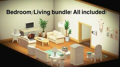 Animal Crossing New Horizon Bedroom Living Room Deal ... on New Horizons Living Room  id=11545
