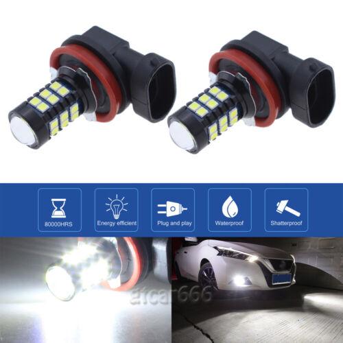 LED Fog Light Bulbs H16 for 2014-2017 Toyota Corolla 4Runner Yaris Tundra RAV4