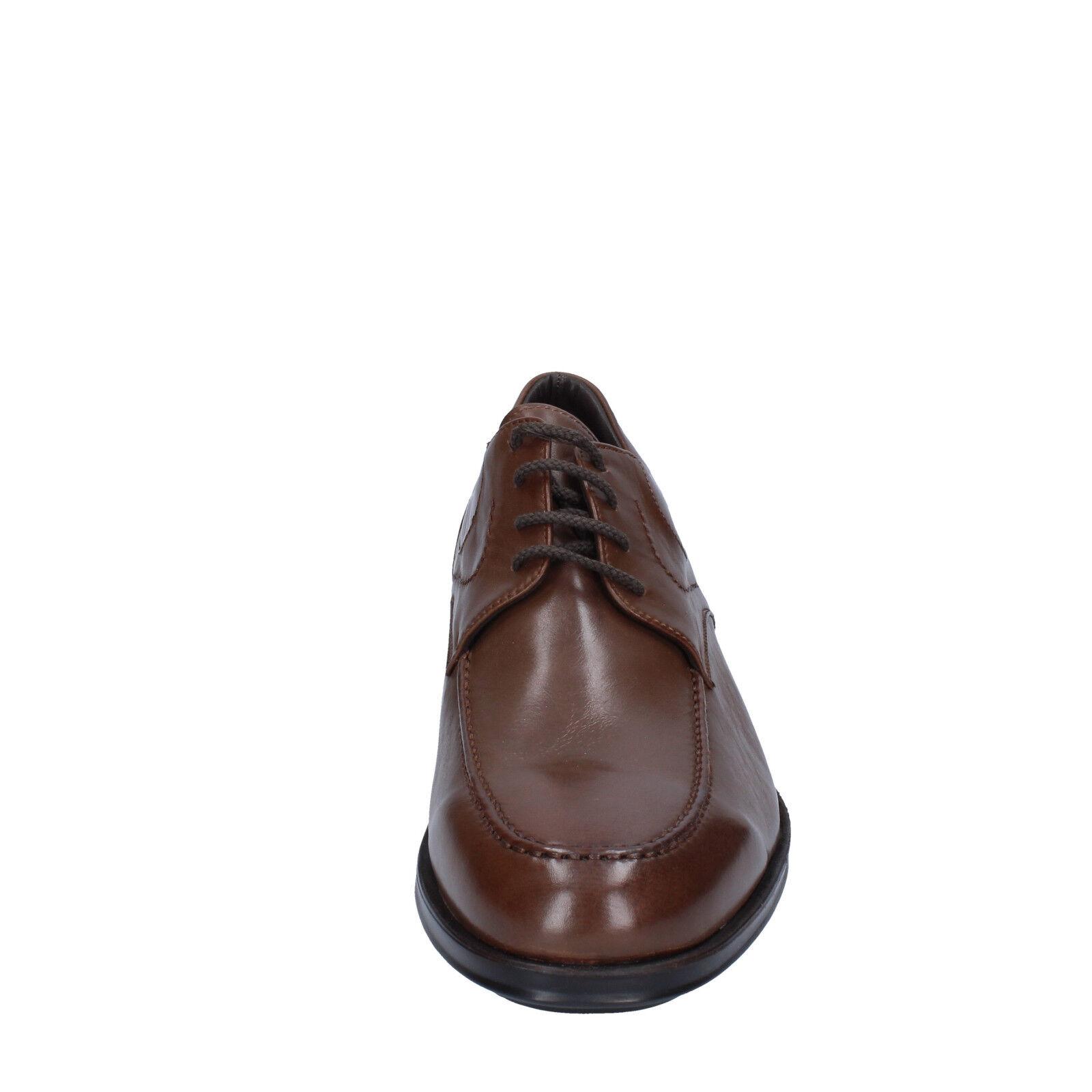 Scarpe uomo CALPIERRE 45 classiche Marroneee pelle AJ375-E AJ375-E AJ375-E | Pratico Ed Economico  0303fb