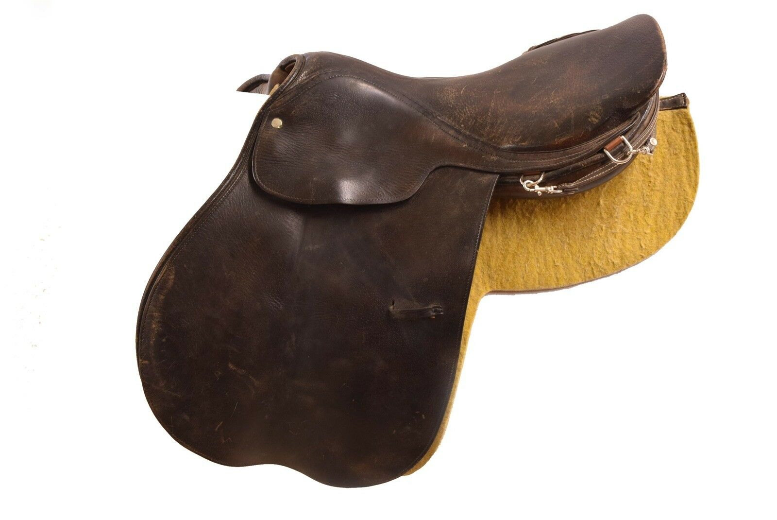 Triumph Sherman Butler Bredhers LTD 16.5  English Leather Saddle Made in England
