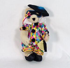 FUZZY VANDERBEAR 'BAL MASQUE' RETIRED North American Bear NWT Excellent! RARE