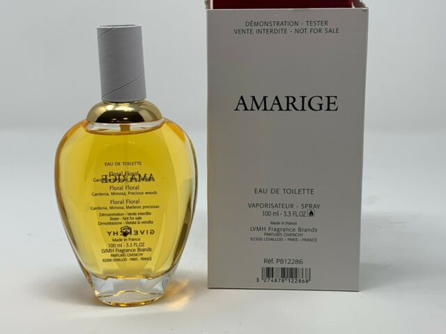 AMARIGE by Givenchy Perfume 3.3 oz / 3.4 oz edt  Tester No cap in Box