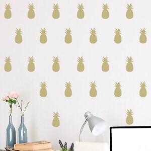 Set-of-52-Pineapple-Wall-Stickers-Decal-Childs-Kids-Vinyl-Art-Decor-Pattern