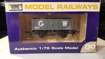 (lot 128 21)-dapol Model Railways,b348 Gwr T Plank Dolcezza Gradevole