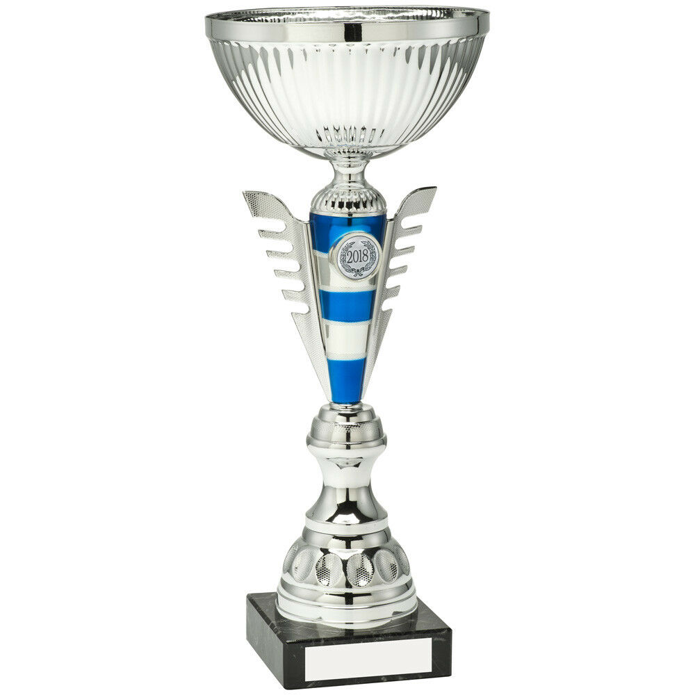 Trophy Presentation Cup on marble in 8 Sizes Free Engraving up to 30 Letters