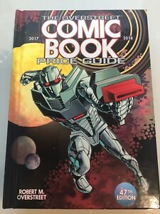 Details about OVERSTREET 2017 2018 COMIC BOOK PRICE GUIDE #47 HARDCOVER  Rodriguez ROM Cover HC