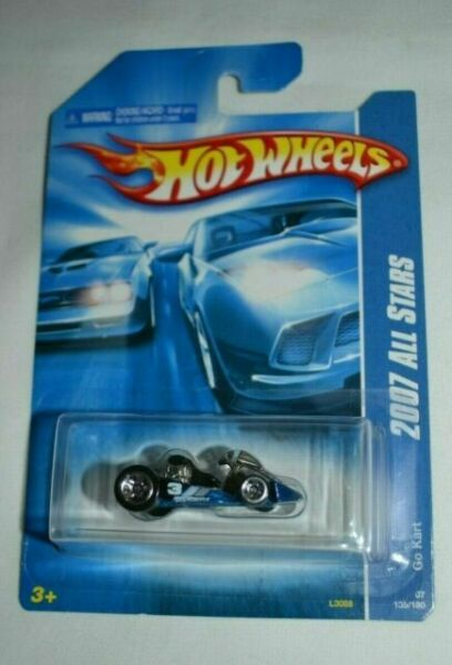 New Models #17180 Rare Hard To Find 5 spoke rims Free Shipping Ford GTX-1 2007 Hot Wheels Blue with Black Stripe